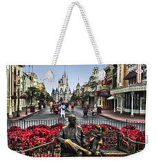 Roy And Minnie Mouse Walt Disney World Weekender Tote Bag