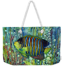 Royal Angelfish Weekender Tote Bag