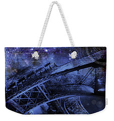 Royal Eiffel Tower Weekender Tote Bag