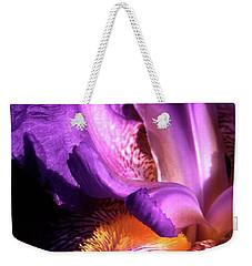 Royal Iris Weekender Tote Bag