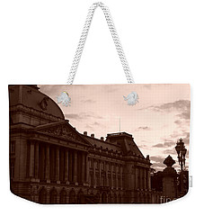 Royal Palace Brussels Weekender Tote Bag