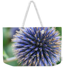 Royal Purple Scottish Thistle Weekender Tote Bag