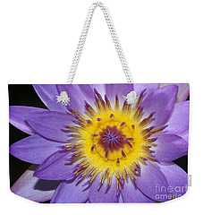 Royal Purple Water Lily #12 Weekender Tote Bag