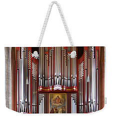 Royal Red King Of Instruments Weekender Tote Bag