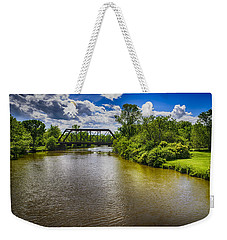 Weekender Tote Bag featuring the photograph Royal River by Mark Myhaver