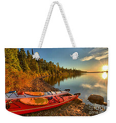 Royale Sunrise Weekender Tote Bag