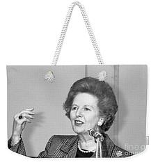Rt.hon. Margaret Thatcher Weekender Tote Bag
