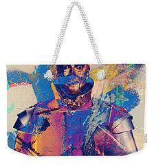 Rubber Tin Man  Weekender Tote Bag