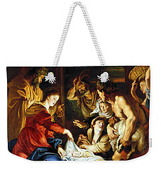 Weekender Tote Bag featuring the photograph Rubens Adoration by Granger
