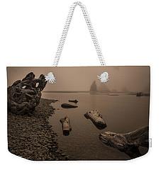 Ruby Beach Fog Weekender Tote Bag