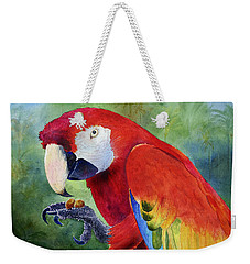 Ruby Having Lunch Weekender Tote Bag