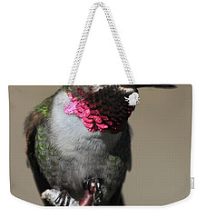 Ruby-throated Hummer Weekender Tote Bag
