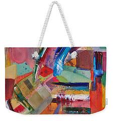 Rugged Strokes Weekender Tote Bag by Jason Williamson