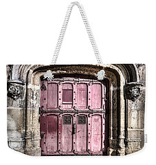 Ruins With Red Door Weekender Tote Bag