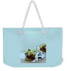 Rum Raisin Poached Pears Weekender Tote Bag