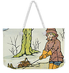 Run Dandy Run Weekender Tote Bag by Anonymous