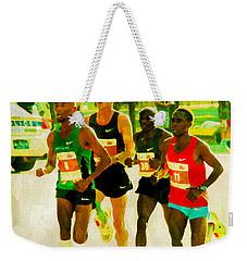 Runners Weekender Tote Bag