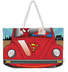 Running Away  Weekender Tote Bag