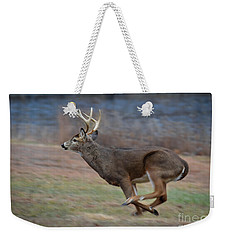 Running Buck Weekender Tote Bag by Amy Porter