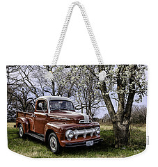Rural 1952 Ford Pickup Weekender Tote Bag