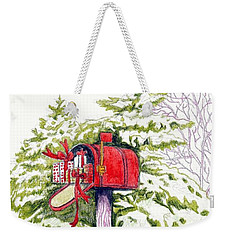 Country Living Christmas Delivery Weekender Tote Bag