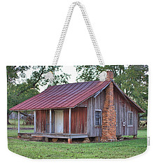 Weekender Tote Bag featuring the photograph Rural Georgia Cabin by Gordon Elwell