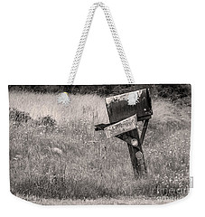 Rural Route Mail Call  Weekender Tote Bag