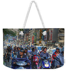 Rush Hour Weekender Tote Bag