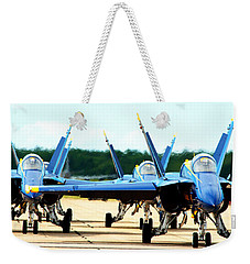 Rush Hour For Angels Weekender Tote Bag by Kevin Fortier