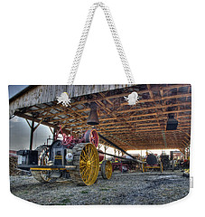 Russell At The Saw Mill Weekender Tote Bag