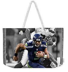 Russell Wilson Seahawks Weekender Tote Bag