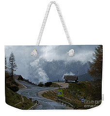 Russian Road - Slovenia Weekender Tote Bag