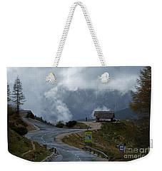 Russian Road - Slovenia Weekender Tote Bag by Phil Banks