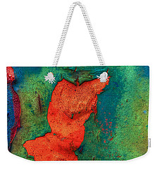 Weekender Tote Bag featuring the photograph Rust Is Beautiful by Jerry Gammon