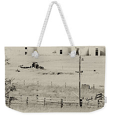 Rust Wind And Time Are Not Kind Weekender Tote Bag by Wilma  Birdwell