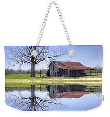 Rustic Barn Weekender Tote Bag by David Troxel