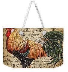 Rustic Rooster-jp2121 Weekender Tote Bag