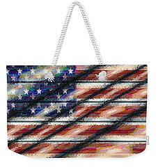 Rustic Usa Weekender Tote Bag