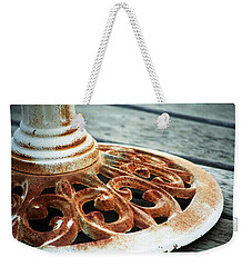Rusting On The Deck Weekender Tote Bag