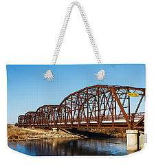 Rusty Bridge Weekender Tote Bag