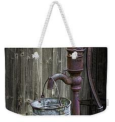 Rusty Hand Water Pump Weekender Tote Bag