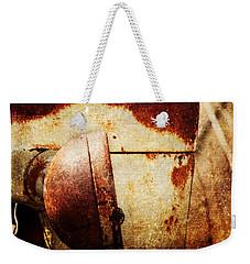 Rusty Headlamp Weekender Tote Bag