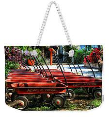 Rusty Old Wagons Weekender Tote Bag