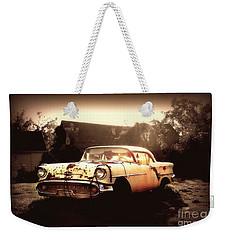 Rusty Oldsmobile Weekender Tote Bag
