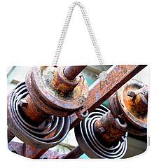 Rusty Relics Weekender Tote Bag by Charlie and Norma Brock