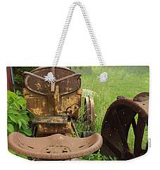 Rusty Tractor Weekender Tote Bag