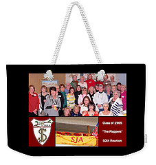 S J A Reunion Collage Flappers Weekender Tote Bag