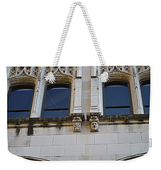 Weekender Tote Bag featuring the photograph Sa Gargoyles  by Shawn Marlow