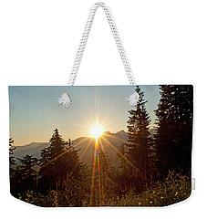 Sabbath Sunset Weekender Tote Bag