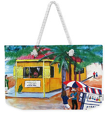 Sabor A Puerto Rico Weekender Tote Bag by Luis F Rodriguez